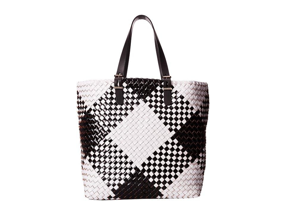 Furla - Atelier Large Tote/Drawstring (Onyx/Petalo) Tote Handbags