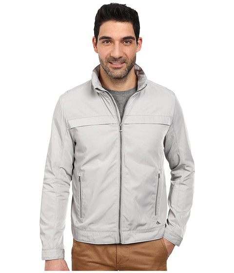 Calvin Klein - Poly Twill Jacket (Drizzle) Men's Coat