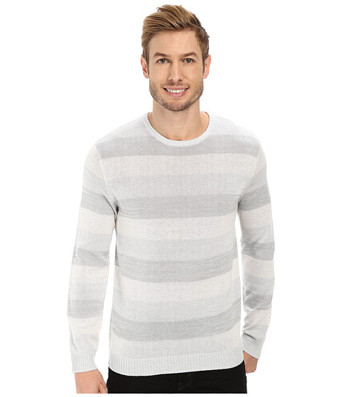 Calvin Klein - Mercerized Cotton Sweater (White) Men's Sweater