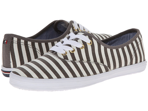 Tommy Hilfiger - Tahlor (White Multi (Stripe)) Women's Lace up casual Shoes