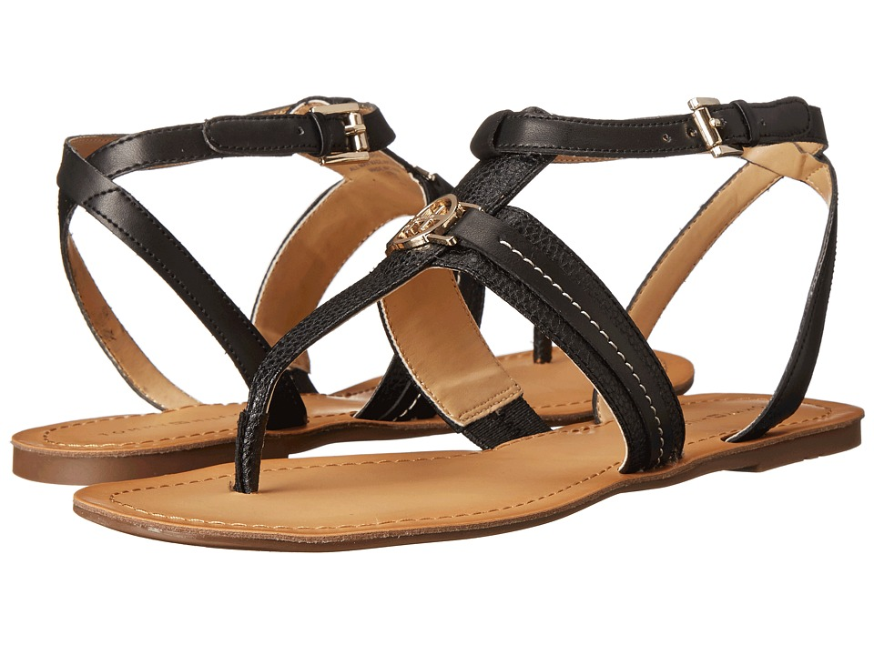 Tommy Hilfiger - Lorine (Black) Women's Sandals