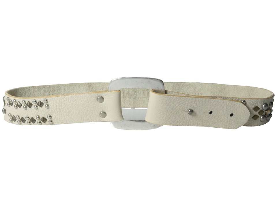Leatherock - 1143 (Bone) Women's Belts