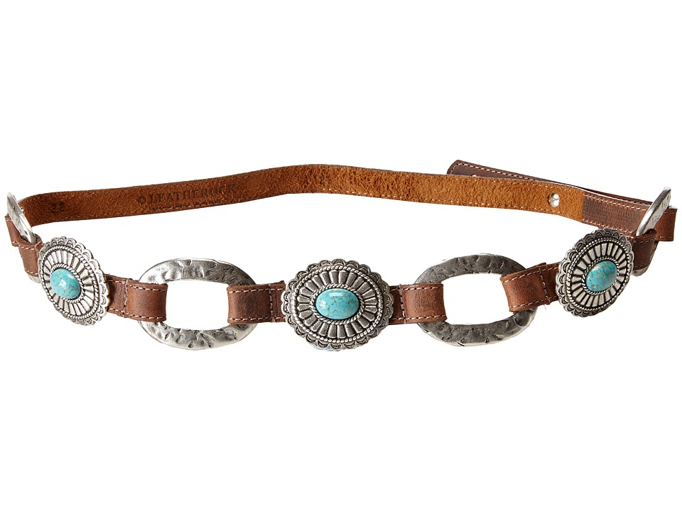 Leatherock - 1123 (Tobacco) Women's Belts