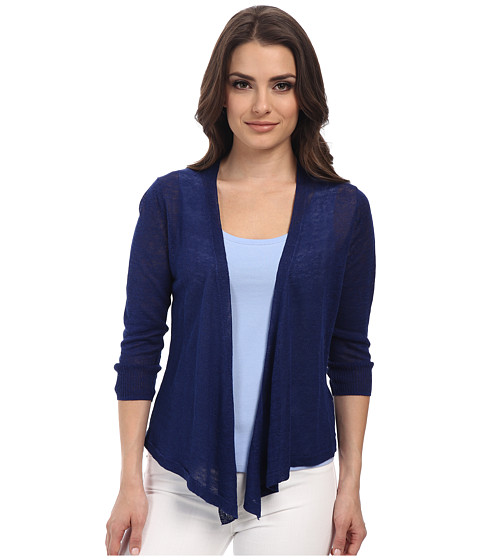 NIC+ZOE - Petite 4 Way Cardy (Blue Roma) Women