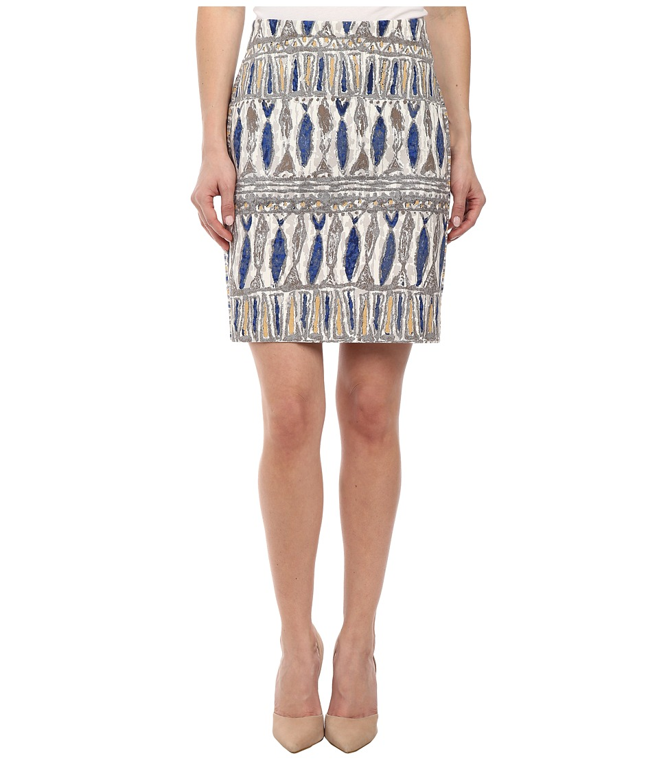 NIC+ZOE - Petite Pisces Slim Skirt (Multi) Women's Skirt