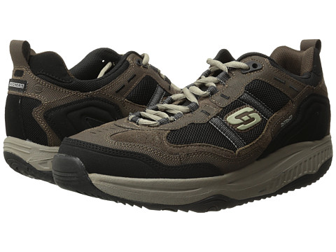 SKECHERS - Shape-Ups XT Premium Comfort (Brown/Black) Men