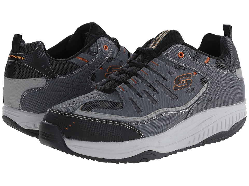 SKECHERS - Shape-Ups XT All Day Comfort (Charcoal/Gray) Men's Lace up casual Shoes
