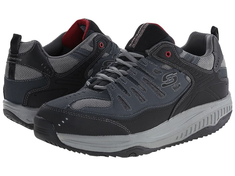 SKECHERS - Shape-Ups XT All Day Comfort (Navy/Gray) Men's Lace up casual Shoes