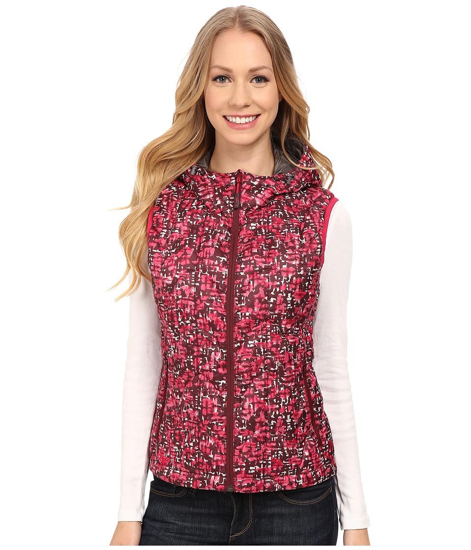 Outdoor Research - Aria Print Vest (Sangria) Women