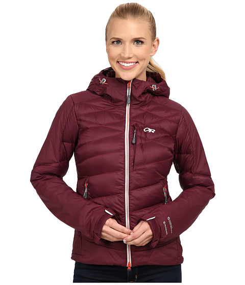 Outdoor Research - Diode Hooded Jacket (Pinot) Women's Coat