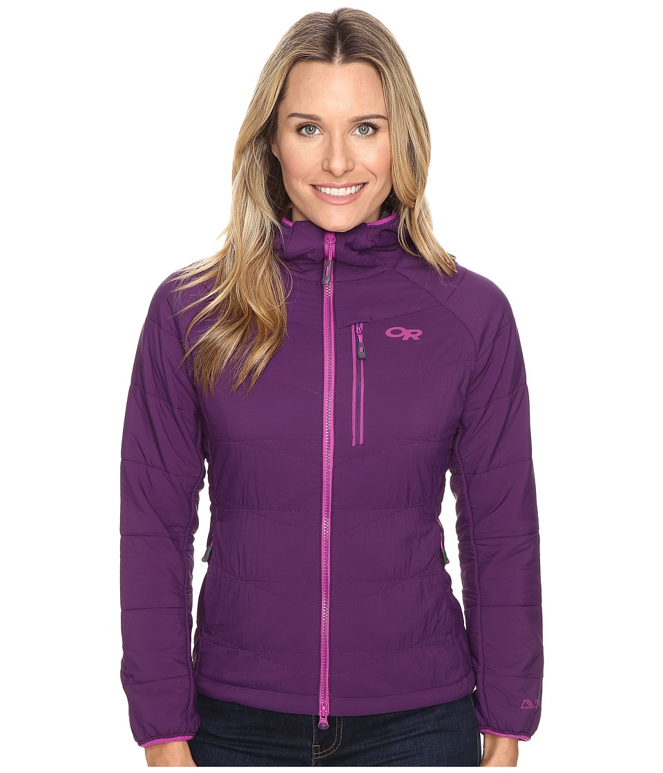 Outdoor Research - Uberlayer Hooded Jacket (Elderberry) Women's Coat