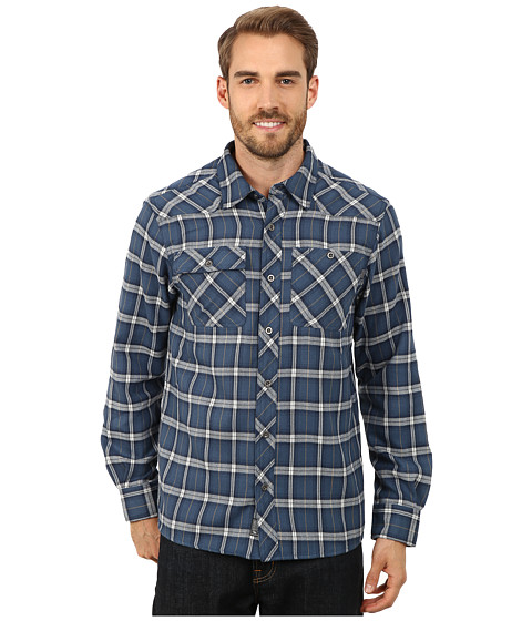Outdoor Research - Feedback Flannel Shirt (Dusk) Men's Long Sleeve Button Up