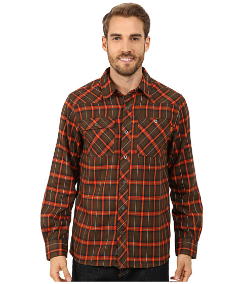 Outdoor Research - Feedback Flannel Shirt (Earth) Men's Long Sleeve Button Up