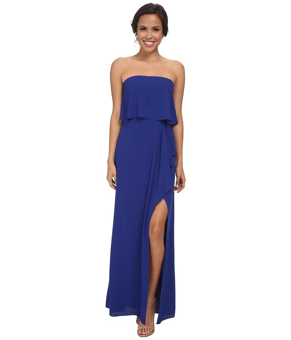 BCBGMAXAZRIA - Felicity Strapless Gown (Royal Blue) Women's Dress