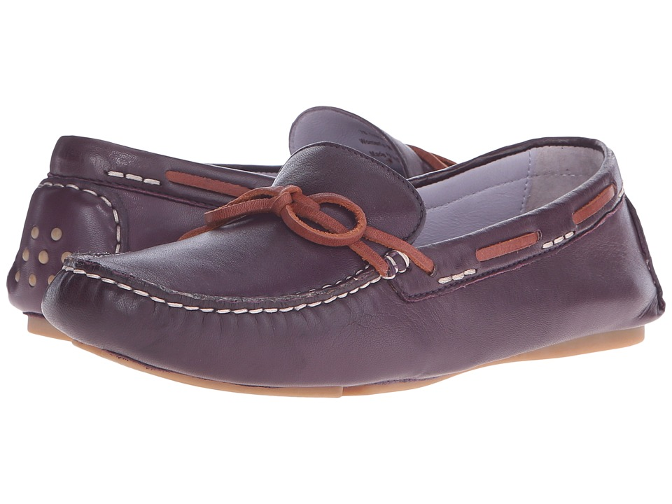 Johnston & Murphy - Maggie Camp Moc (Eggplant Glove Leather) Women's Slip on Shoes