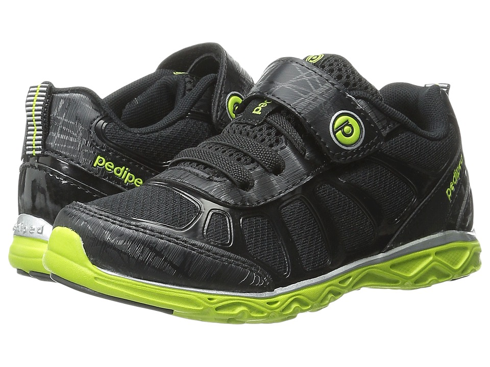pediped - Scout Flex (Toddler/Little Kid) (Black) Boy's Shoes