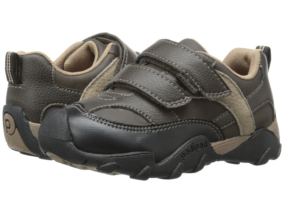 pediped - Highlander Flex (Toddler/Little Kid/Big Kid) (Chocolate) Boy's Shoes