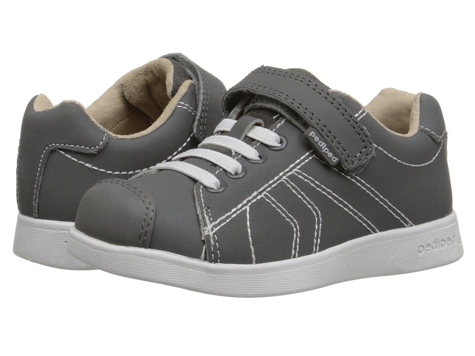 pediped - Jake Flex (Toddler/Little Kid) (Grey) Boy's Shoes