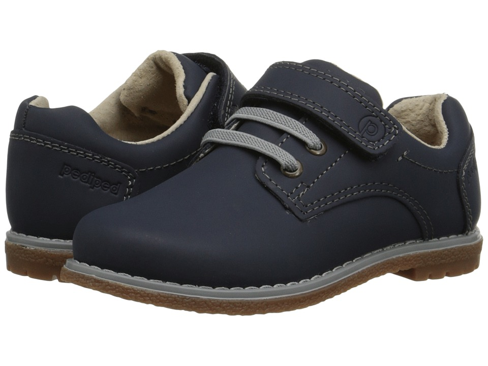 pediped - Storm Flex (Toddler/Little Kid) (Navy) Boy's Shoes
