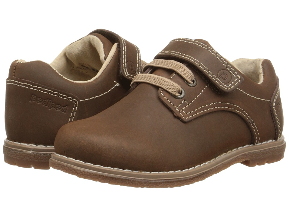 pediped - Storm Flex (Toddler/Little Kid) (Chocolate) Boy's Shoes