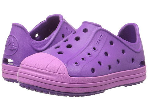 Crocs Kids - Bump It Shoe (Toddler/Little Kid) (Amethyst/Wild Orchard) Girls Shoes