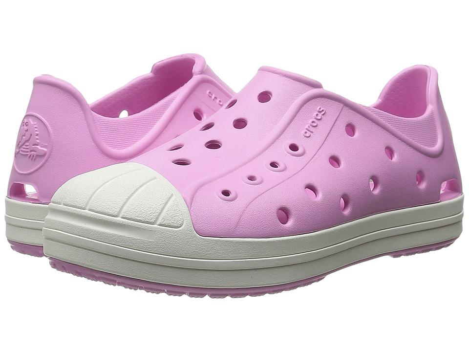 Crocs Kids - Bump It Shoe (Toddler/Little Kid) (Carnation/Oyster) Girls Shoes