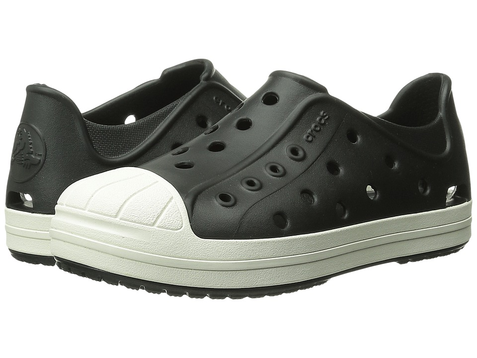 Crocs Kids - Bump It Shoe (Toddler/Little Kid) (Black/Oyster) Kids Shoes