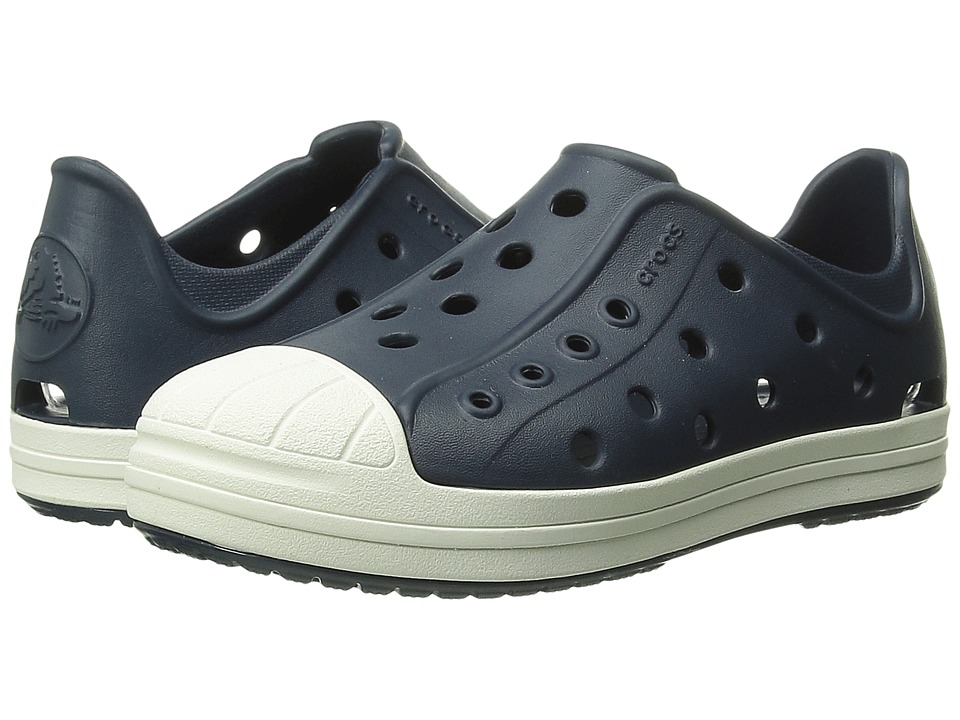 Crocs Kids - Bump It Shoe (Toddler/Little Kid) (Navy/Oyster) Kids Shoes