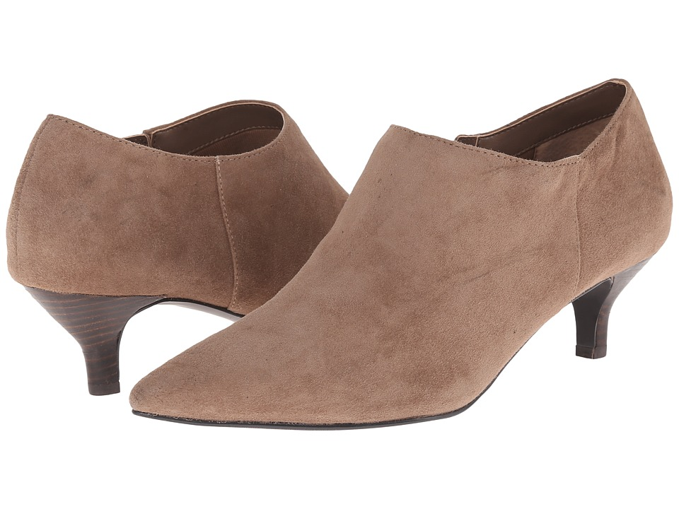 Trotters - Pearl (Dark Nude Kid Suede Leather) Women