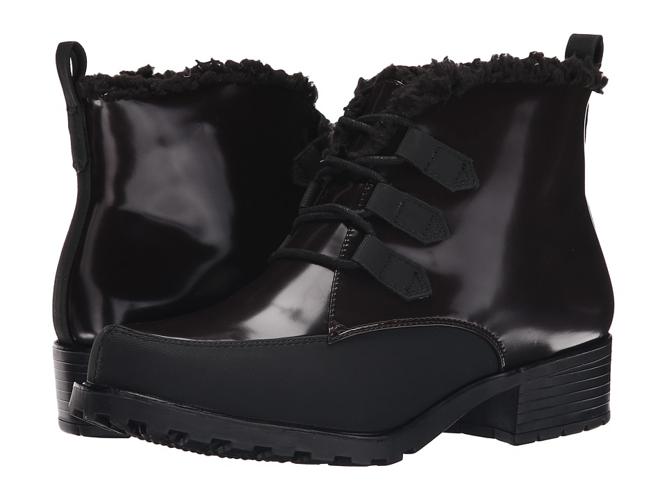 Trotters - Snowflakes III (Bordeaux/Black Brush Off Box Leather Man Made) Women's Lace-up Boots