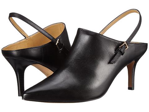 Trotters - Angel (Black Full Grain Soft Nappa Leather) High Heels