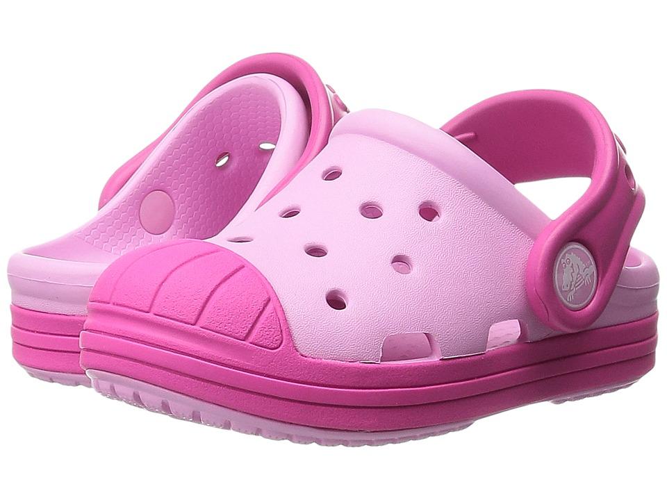 Crocs Kids - Bump It Clog (Toddler/Little Kid) (Carnation/Candy Pink) Girls Shoes