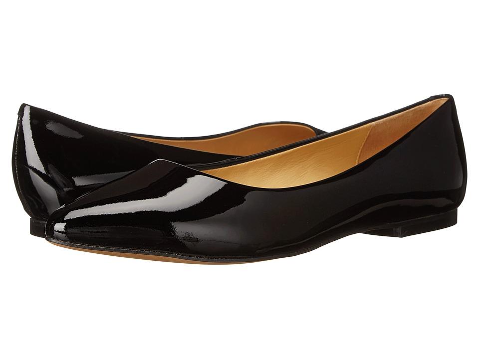 Trotters Estee (Black Soft Patent Leather) Women