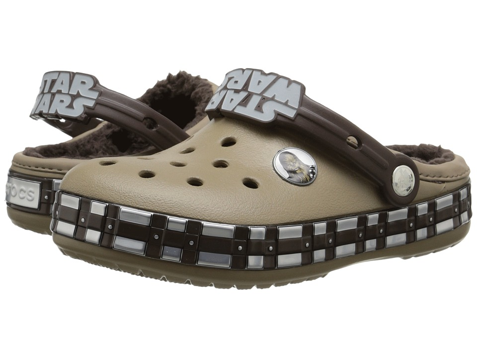 Crocs Kids - CB Star Wars Chewbacca Lined (Toddler/Little Kid) (Khaki) Kids Shoes