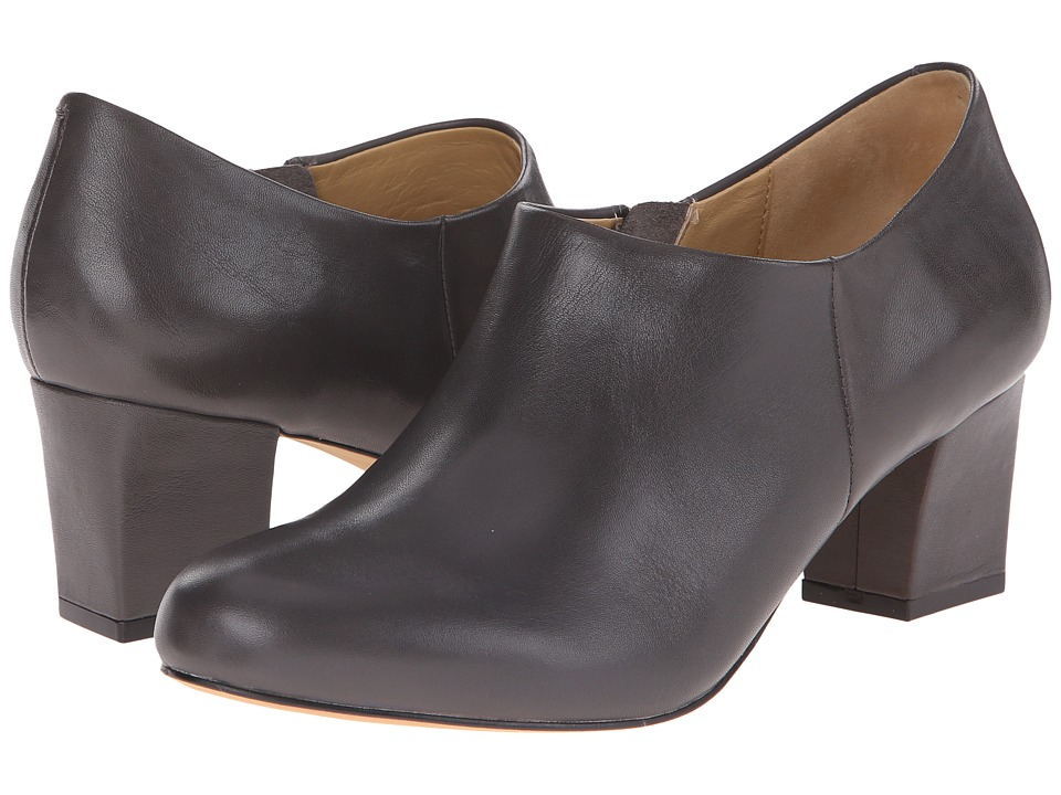 Trotters Penny (Dark Grey Full Grain Soft Nappa Leather) High Heels