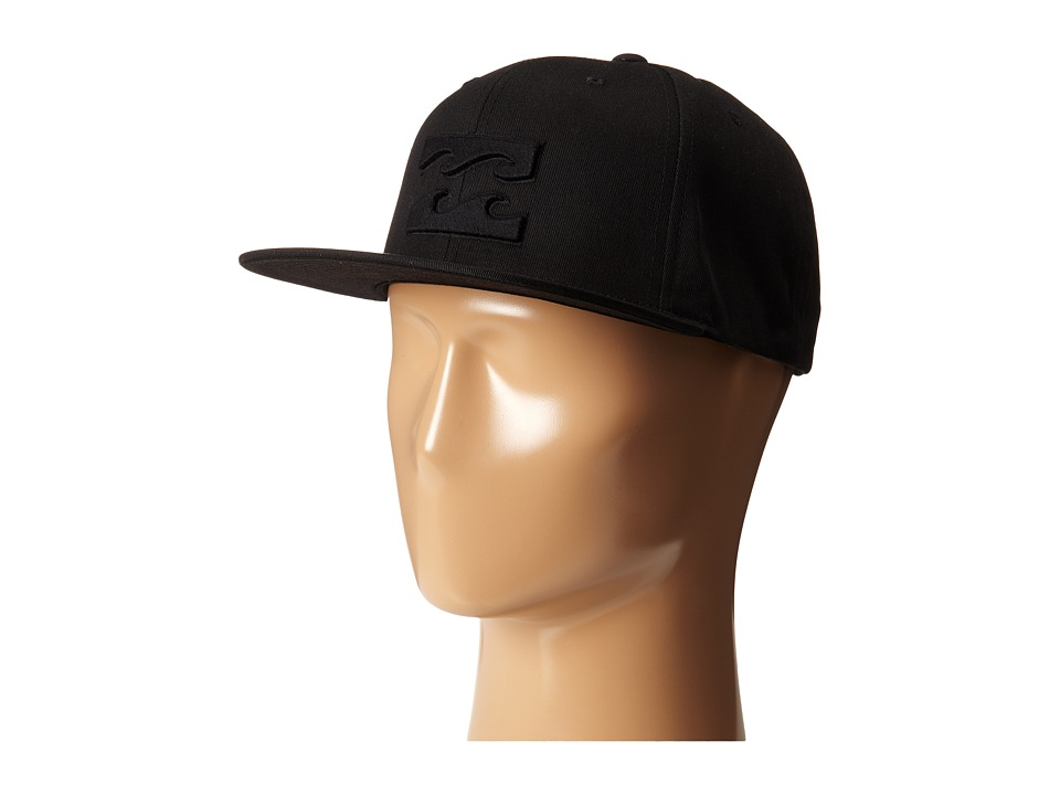 Billabong - All Day Snapback Hat (Big Kids) (Stealth) Baseball Caps