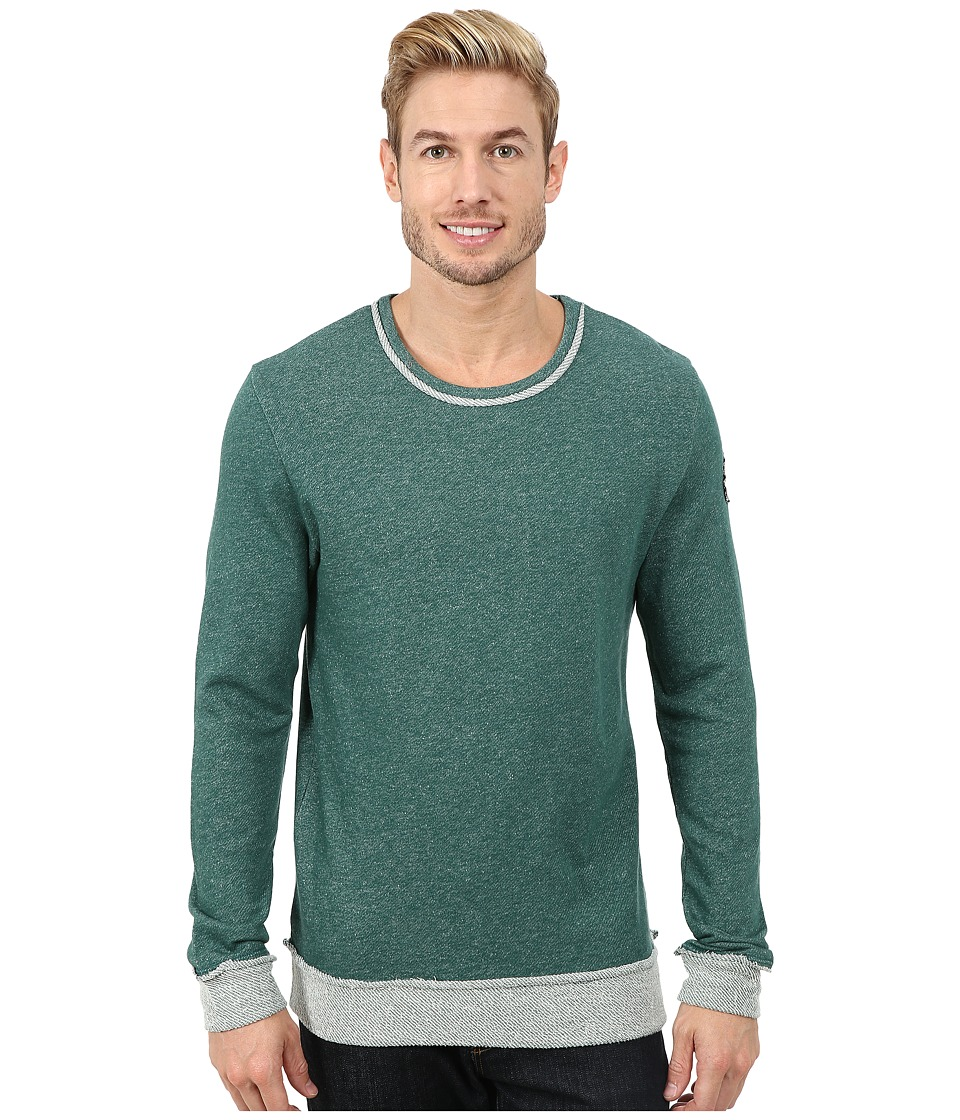 Life is good - Terry Crew (Hunter Green) Men's Long Sleeve Pullover