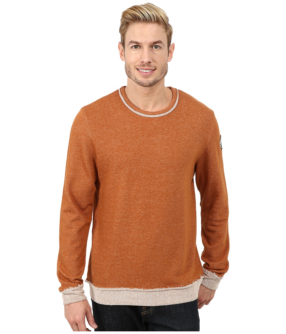 Life is good - Terry Crew (Rustic Copper) Men's Long Sleeve Pullover