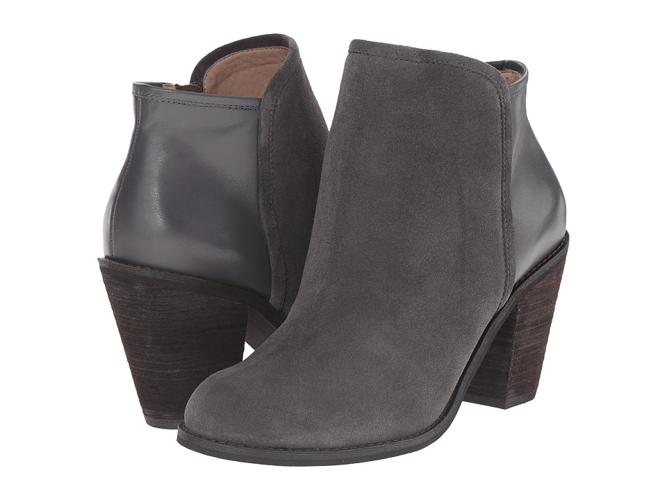 SoftWalk - Frontier (Graphite/Dark Grey Suede Leather) Women's Dress Boots