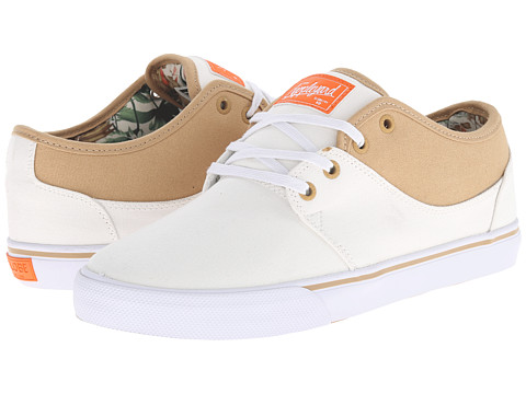Globe - Mahalo (Prestine White/Jungle) Men
