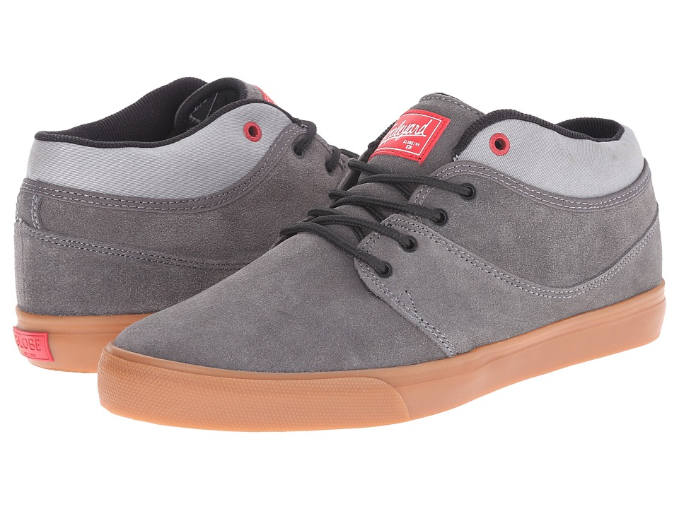 Globe - Mahalo Mid (Charcoal) Men's Shoes