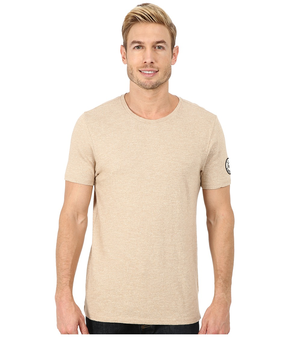 Life is good - Slub Crew Tee (Rustic Copper) Men