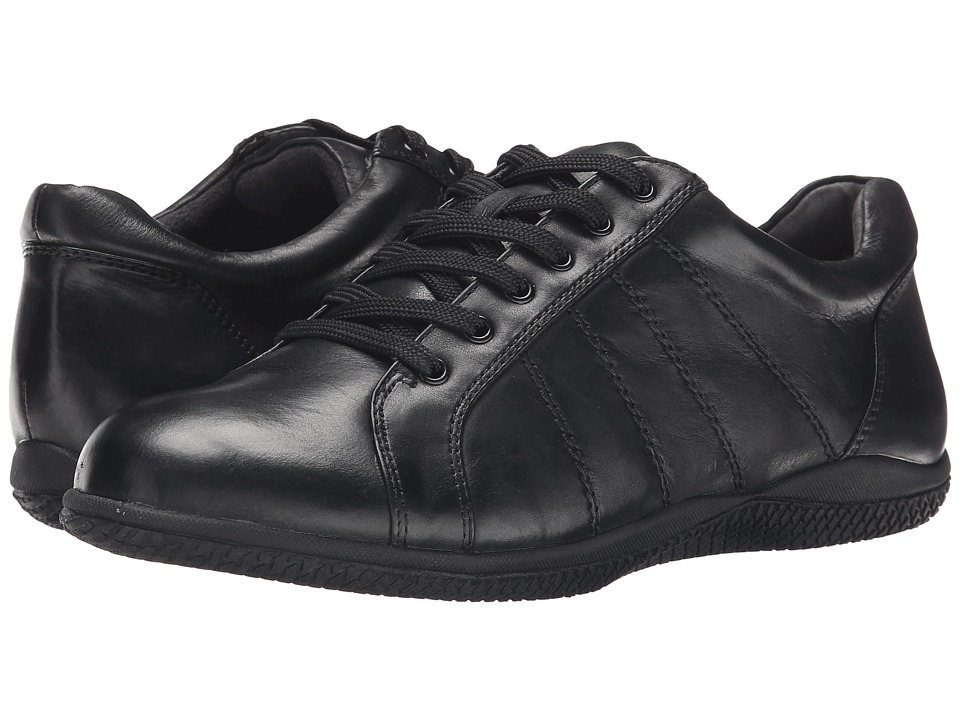 SoftWalk Hickory (Black Soft Tumbled Leather) Women