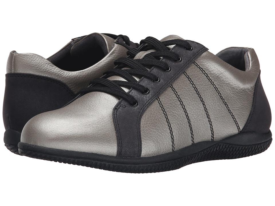 SoftWalk Hickory (Silverwash/Black Soft Tumbled Leather/Distress Nubuck) Women