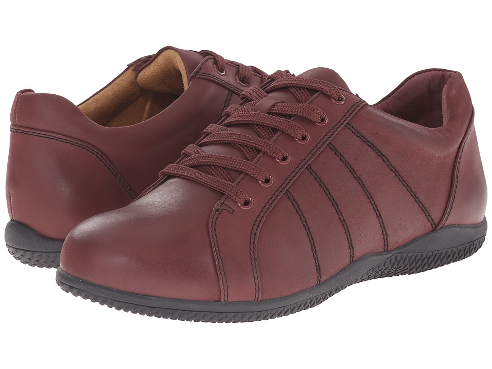 SoftWalk - Hickory (Dark Red Veg Tumbled Leather) Women