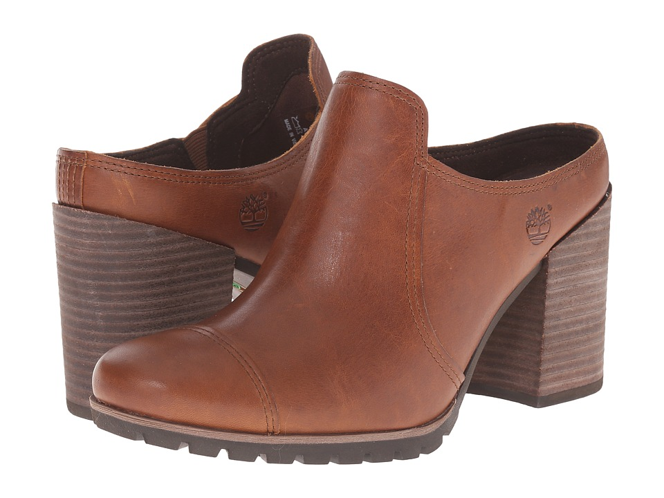 Timberland Swazey Clog (Wheat Forty Leather) Women