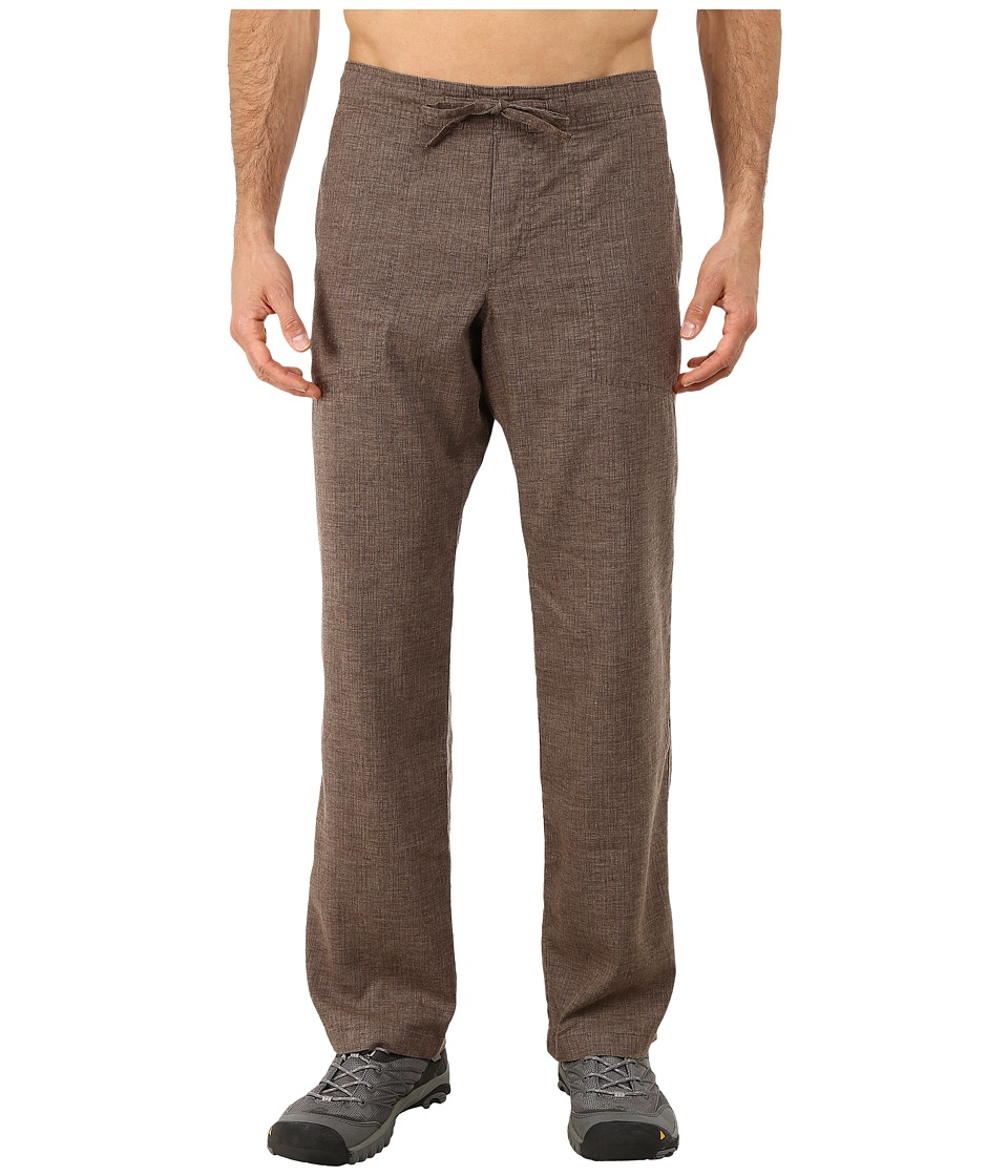 Prana - Sutra Pant (Brown Herringbone) Men's Casual Pants