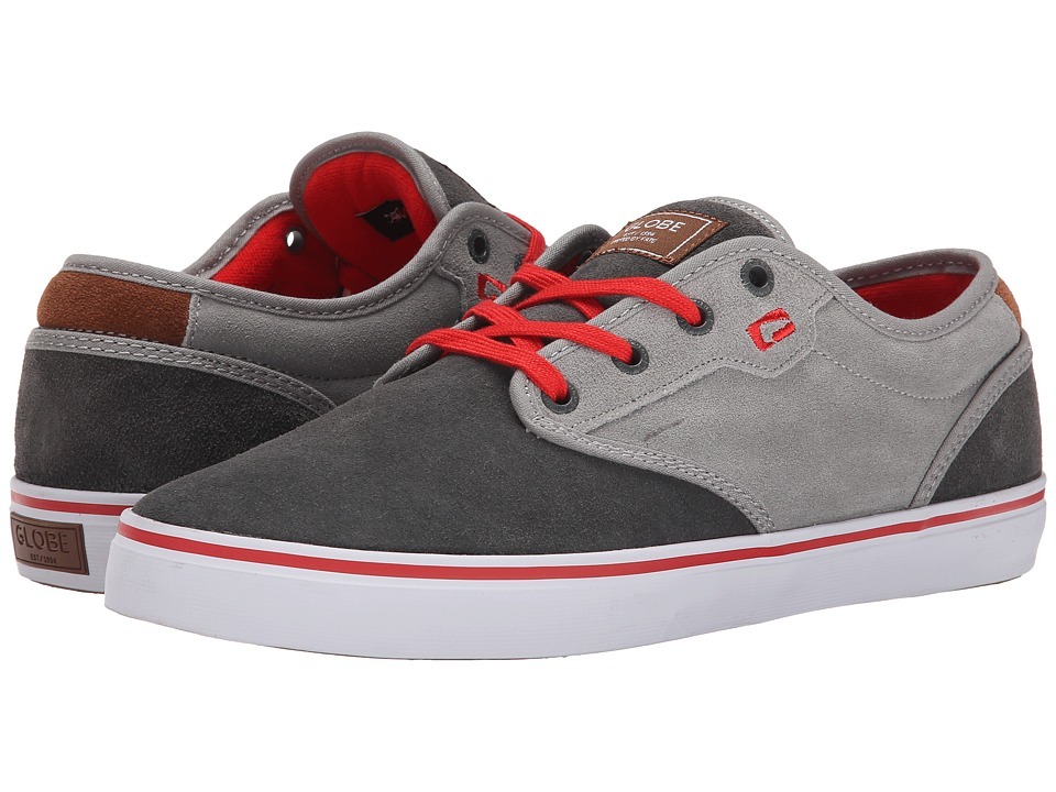 Globe - Motley (Charcoal/Red) Men