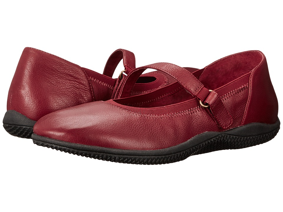 SoftWalk Hollis (Dark Red Soft Tumbled Leather) Women