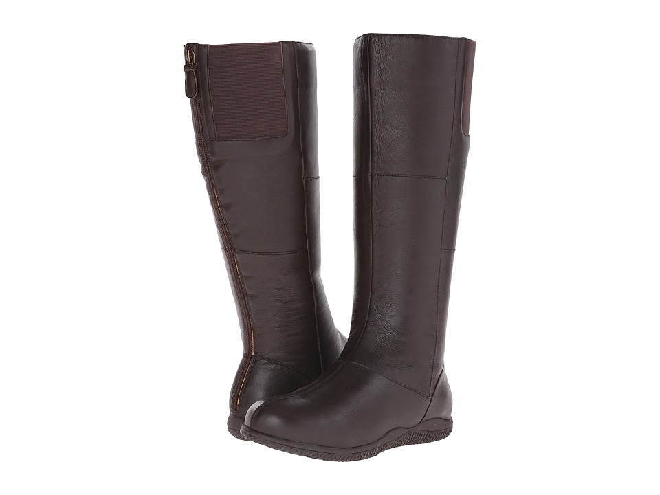 SoftWalk - Hollywood (Dark Brown Soft Nappa Leather) Women's Boots